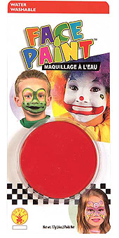 Red Face paint Pod