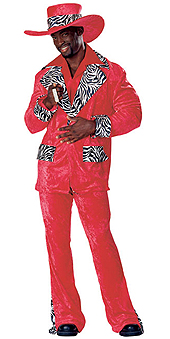 Red Hot Playa Costume