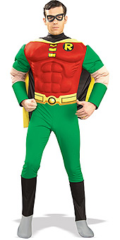 Robin Deluxe Muscle Chest Adult Costume