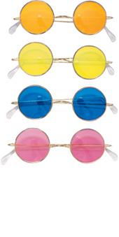 Round Glasses Orange lens