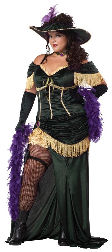 Saloon Madame Plus Size Costume