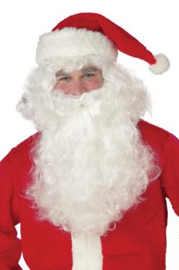 Santa Claus Beard and Wig Set