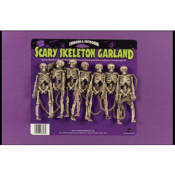 Scary Skeleton Garland