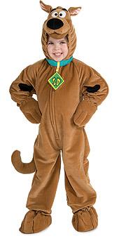 Scooby Doo Deluxe Plush Child Costume