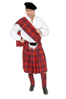 Scottish Kilt Plus Size Costume
