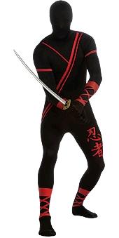 Second Skin Ninja Costume