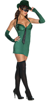 Secret Wishes Green Hornet Costume
