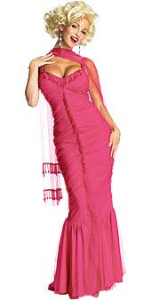 Secret Wishes Pink Marilyn Monroe Costume