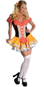 Secret Wishes Swiss Sweetie Costume
