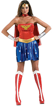 Secret Wishes Wonder Woman Deluxe Costume