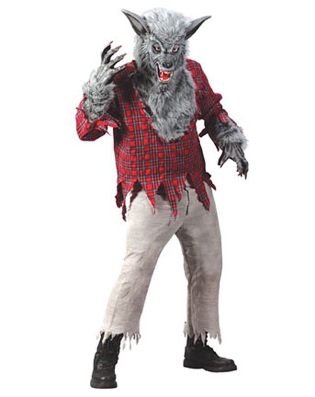 Silver and Grey Werewolf Costume