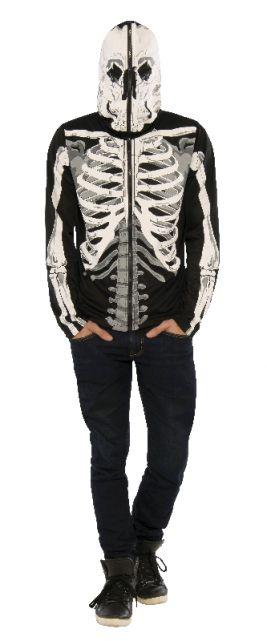 Skeleton Print Hoodie