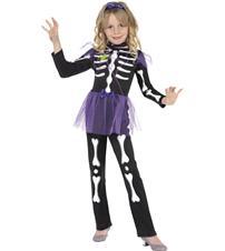 Skellie Punk Girl Costume