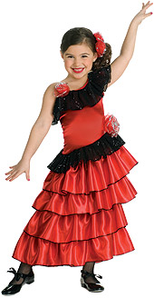 Spanish Princess Child Costume