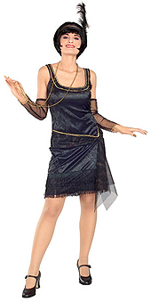 Speakeasy Flapper Costume