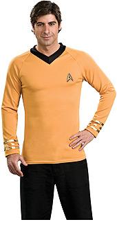 Star Trek Classic - Deluxe Captain Kirk Costume