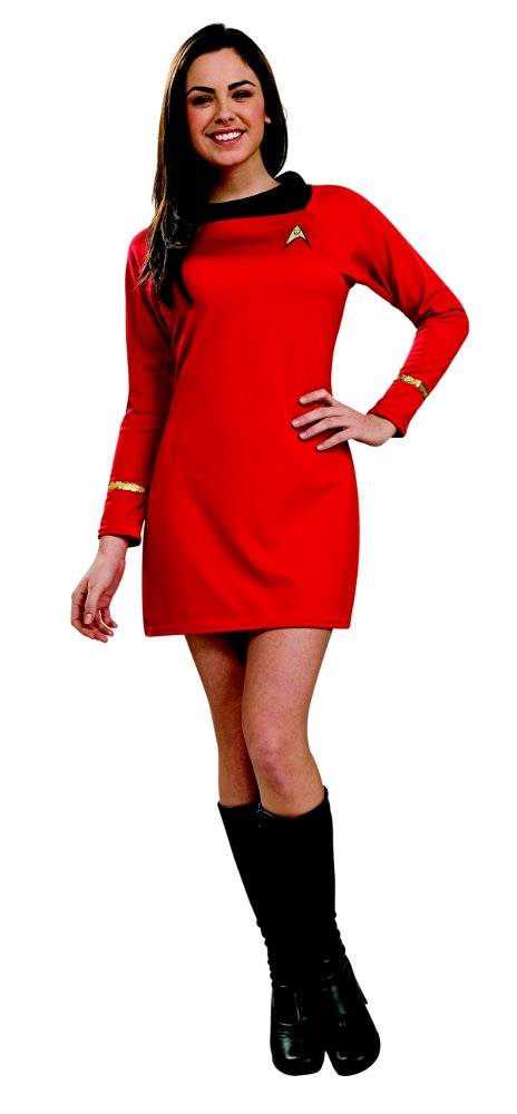 Star Trek Classic Deluxe Red Dress Uhura Costumes | Star Trek Classic Deluxe Red Dress Uhura Costume | Costume One
