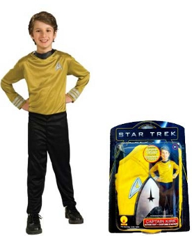 Star Trek Kirk Child Costume