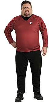 Star Trek Movie Scotty Deluxe Plus Size Costume