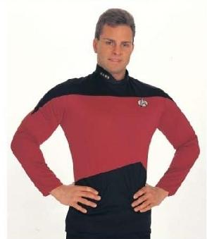 Star Trek Next Generation Red Shirt