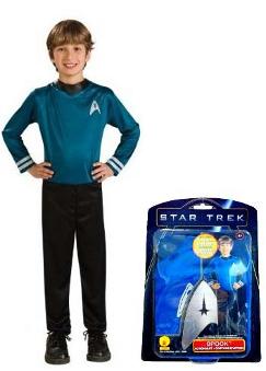 Star Trek Spock Child Costume