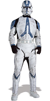 Star Wars EP3 Deluxe Clone Trooper Costume