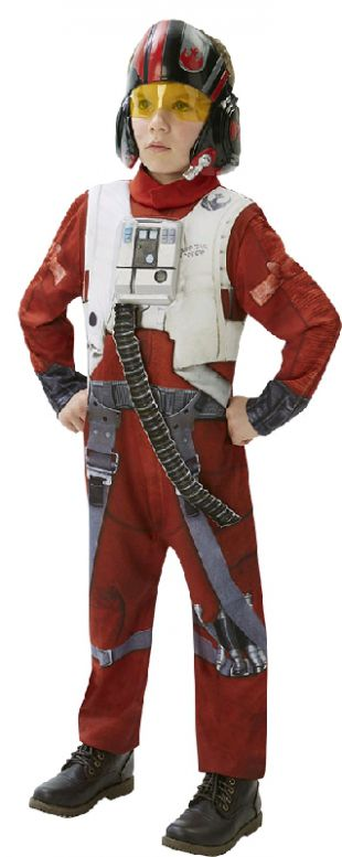 Star Wars Ep7 Deluxe Poe X-wing Fighter Costume