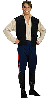 Star Wars Han Solo Deluxe Adult Costume