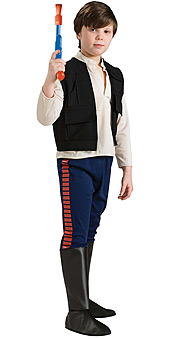 Star Wars Han Solo Deluxe Child Costume