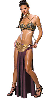 Star Wars Princess Leia Slave Outfit Costume