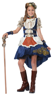 Steampunk Fashion Girl Costume