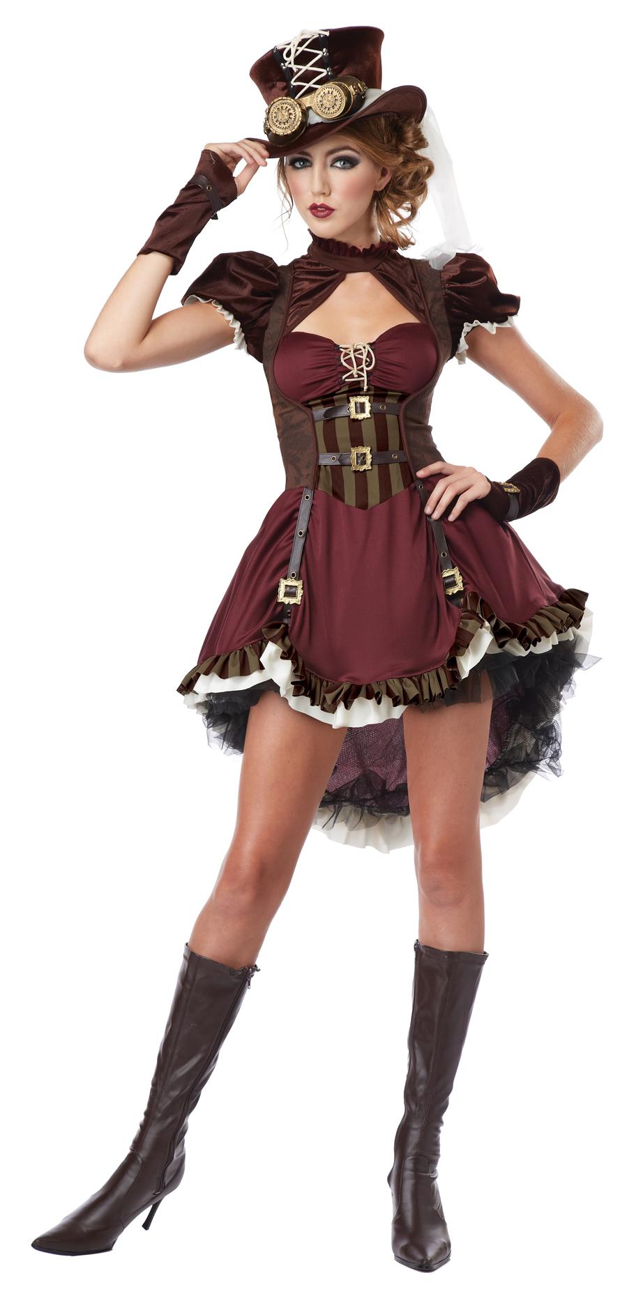 Steampunk Girl Costume
