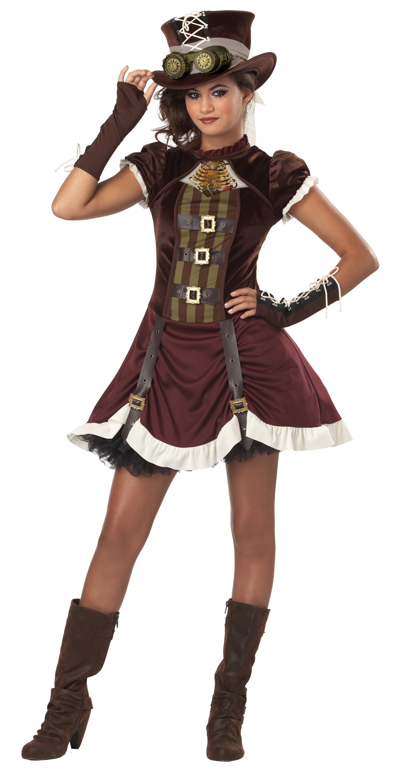 Steampunk Girl Tween Costume