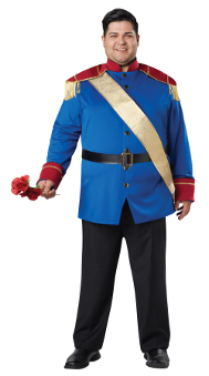 Storybook Prince Plus Size Costume