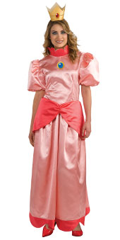 Super Mario Bros Princess Peach Adult Costume