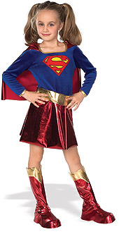 Supergirl Deluxe Child Costume