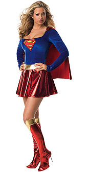 Supergirl Teen Costume
