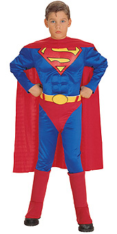Superman Classic Muscle Chest Child Costume