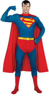 Superman Second Skin Suit Costume