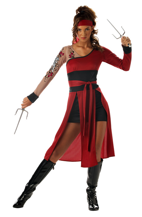 Teen Tigress Ninja Costume  sc 1 st  Costumes from CostumeOne & Teen Tigress Ninja Costumes | Teen Tigress Ninja Costume | Costume One