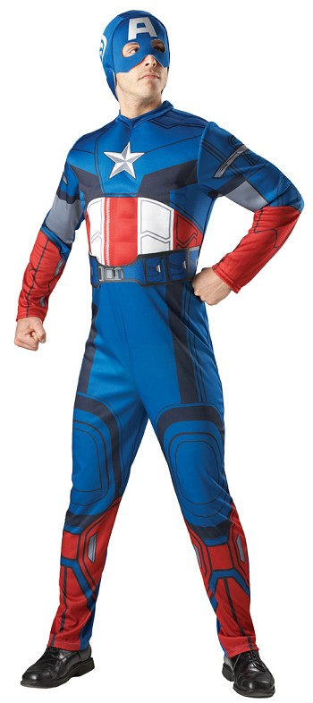 The Avengers Captain America Adult Costume