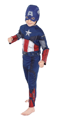 The Avengers Captain America Child Costume