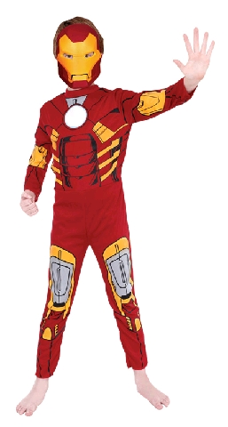 The Avengers Iron Man Child Costume