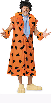 The Flintstones Fred Flintstone Adult Costume
