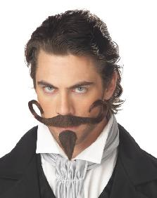 The Gambler Moustache and chin patch