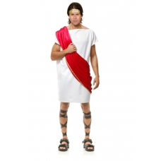 Toga Man Burgundy Costume