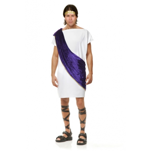 Toga Man Purple Costume