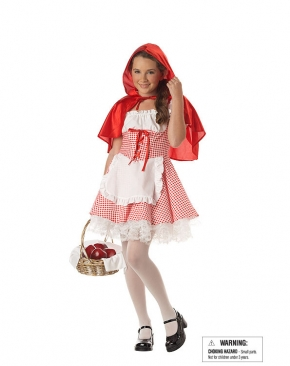Tween Little Red Riding Hood Costume