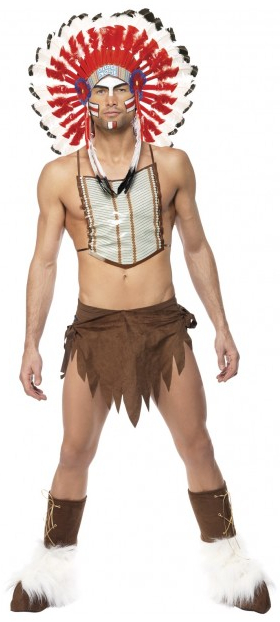 Village People Indian Chief Costume