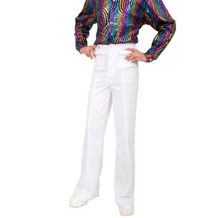 White Disco pants Costume